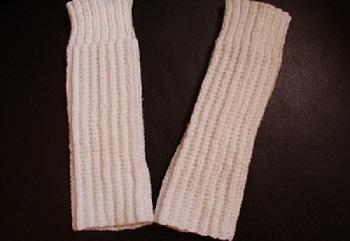jambières enfant modèle création tricotées mains